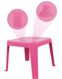 Imagem - Mesa Plástica Infantil Rosa cód: 7141126