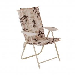 Imagem - Cadeira Poltrona Estofada  Floral Kairos cód: 7141041