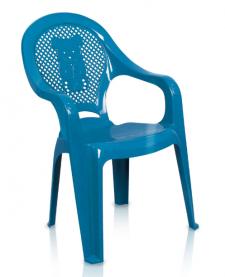 Imagem - Poltrona Plástca Infantil Azul cód: 7141255