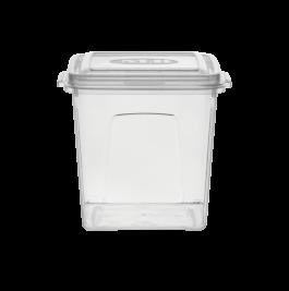 Imagem - Pote Plásticos MB 1,05L Quadrado cód: 7245051