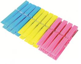 Imagem - Prendedor de Roupa 12 peças Plástico 9,5 x 1,8cm cód: 7255708