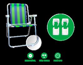 Imagem - Protetor Para Cadeira De Praia 4 peças cód: 7141436