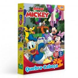 Imagem - Quebra Cabeça Mickey Disney Junior 150 Peças Novo Papel cód: 6304011