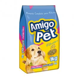 Imagem - Ração p/ Cães Filhotes Amigo Pet 1kg cód: 7530352