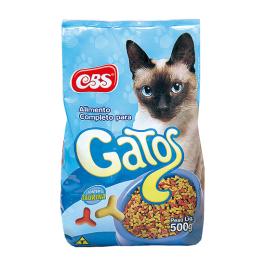 Imagem - Ração p/ Gatos CBS 500g cód: 7530351