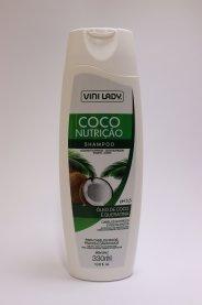 Imagem - Shampoo Vini Lady 330ml Coco Nutrição 002815-0 cód: 4250064