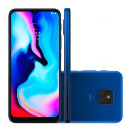 Imagem - Smartphone Motorola Moto E7 Plus 64GB Azul Navy 4GB RAM Tela 6.5 POL Câmera Dupla Octa-Core cód: 7201055
