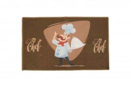 Imagem - Tapete Cozinha 50x78 Chefe