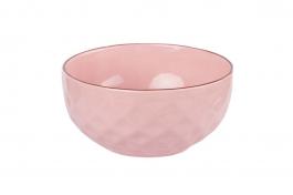 Imagem - Tigela Bowl 500ML Cerâmica Rosa cód: 72200124