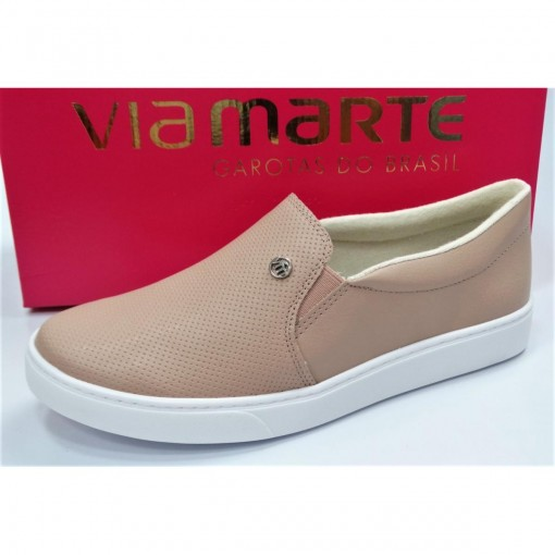 TÊNIS SLIP ON FEMININO VIA MARTE 19-11403