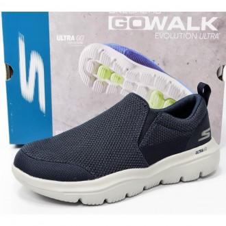 Imagem - TENIS SLIP ON MASCULINO SKECHERS GO WALK 54738 cód: 1000027654738GOWALK4