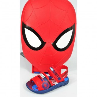 Imagem - SANDÁLIA DO 23/24 AO 33/34 INFANTIL MENINO GRENDENE KIDS MARVEL  SPIDERMAN 22368.20698  cód: 11722368.20698MARVEL359