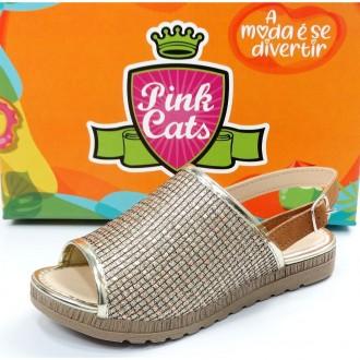 Imagem - SANDALIA DO 28 AO 36 INFANTIL MENINA PINK CATS V0681.0008 cód: 381V0681.000810001047