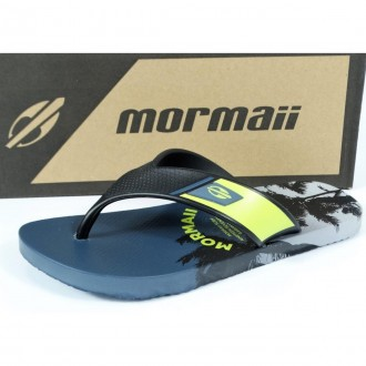 Imagem - CHINELO DEDO MASCULINO MORMAII NEOCYCLE 2 10802.24620  cód: 23010802.24620NEOCYCLE247