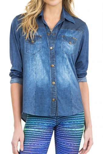 Camisa Live Jeans Cool E Comfy