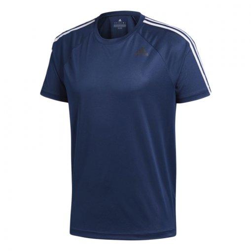 Camiseta Adidas Mc D2m 3-Stripes Masculina