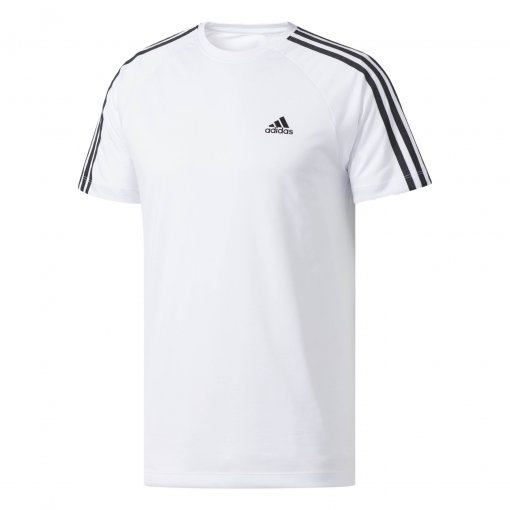 Camiseta Masculina Adidas Leve Essentials 3-Stripes