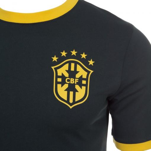 c5c0716be04 Camiseta Nike Manga Curta CBF Core Ringer Tee