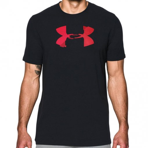 Camiseta Under Armour Glitch Logo Ss