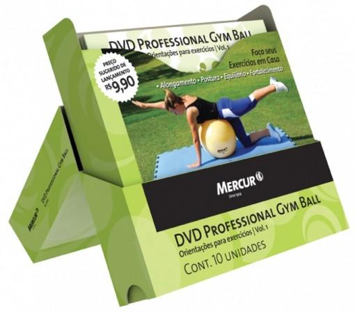 Dvd Profissional Gym Ball Mercur