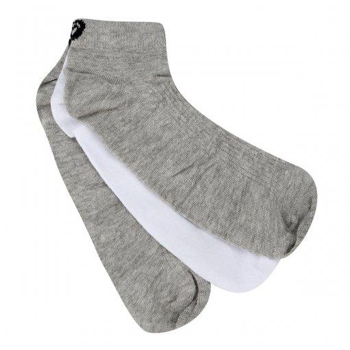 Meia Asics Cotton Sports 3 Pack Low Cut Feminina (34-38)