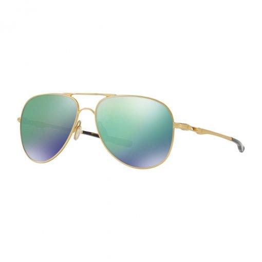 Óculos Oakley Elmont L Satin Gold Lente Jade Iridium