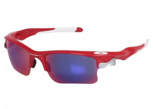 3e01d2d1703a7 Óculos Oakley Fast Jacket Xl Infrared   Treino e Corrida