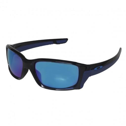 47f0811f32f6f Óculos Oakley Straightlink Polished Black W  Sapphire Iridium