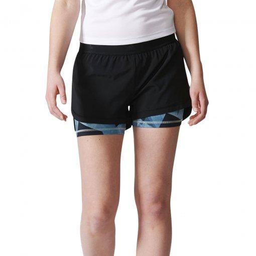 Shorts Adidas 2 Em 1 Aop Feminino