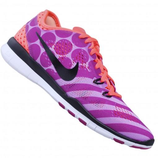 4566bbc8ab9 Tênis Nike Free 5.0 TR Fit 5 PRT - Feminino