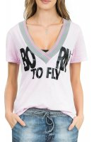 Blusa Live Born To Fly