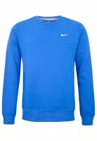 Blusão Nike Club Crew-Swoosh