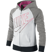 Blusão Nike YA 76 HBR FZ Hoody YTH - Feminino