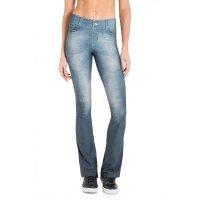Calça Live Flare Jeans Casual Denim