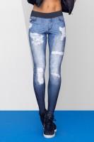 Calça Fuso Live com Estampa Jeans - Feminina