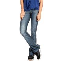 Calça Live Flare Casual Denim Dark Jeans