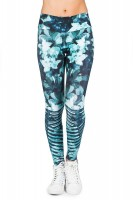 Calça Live Legging Power Turquoise Chrome