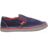 CALCADO HOVER SNEAK SLIP ON BOYS N CROCS tamanho:30;cor:Preto e Azul