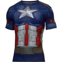 Camiseta Under Armour Capitão America Suit