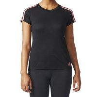 Camiseta Adidas Essentials 3-Stripes Feminina