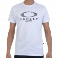Camiseta Oakley Finger Print Logo Tee