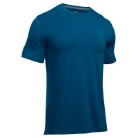 CAMISETA LEFT CHEST SS UNDER ARMOUR tamanho:P;cor:Azul Royal
