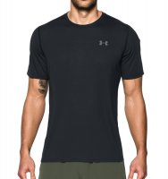CAMISETA UA THREADBORNE M UNDER ARMOUR tamanho:M;cor:Preto e Grafite