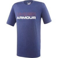 Camiseta Under Armour Ua Cotton Wordmark Stack