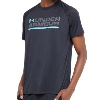 Camiseta Under Armour Wordmark Lock Up Ss