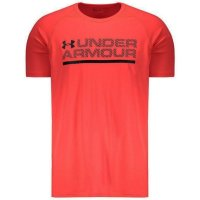 Camiseta Under Armour Wordmark Lockup Ss Brazil