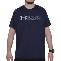 Camiseta Under Armour Wordmark Brazil