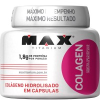 Colageno Hidrolisado - 100 Capsulas - Max Titanium