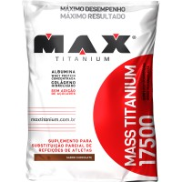 HIPERCALORICO MASS 17500 REFIL MAX TITANIUM 1,4KG