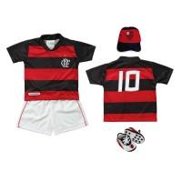 Kit Torcida Baby 4 Peças Sublimado Flamengo